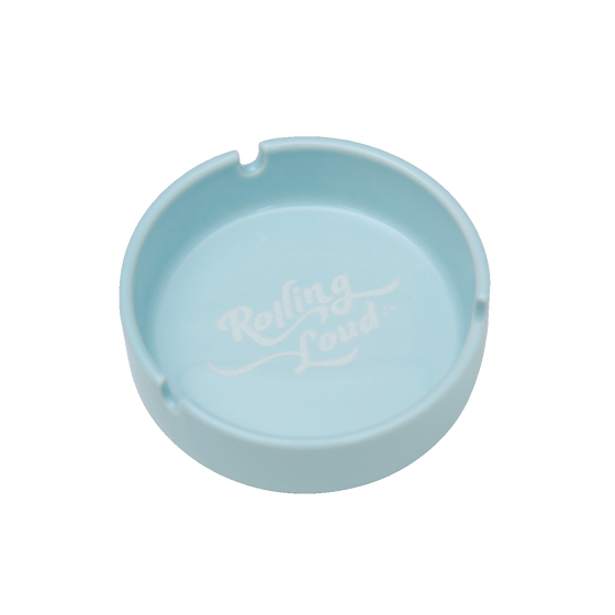 Rolling Loud Blue Ceramic Ashtray