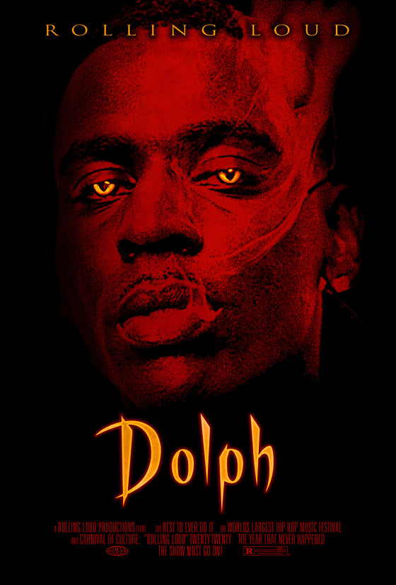 Young Dolph Limited Release Halloween Poster