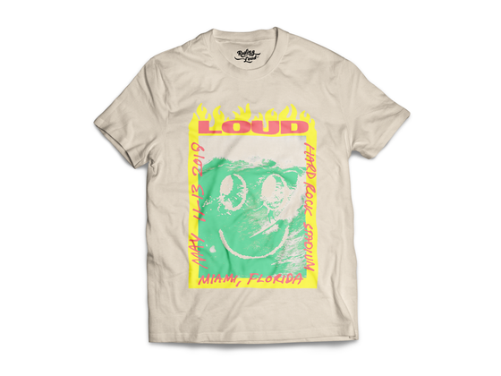 Rolling Loud Miami Smiley Lineup Tee