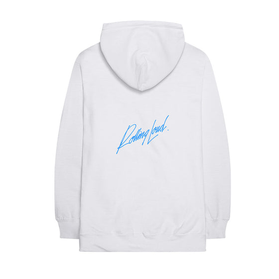 Kid Laroi x Rolling Loud Stream White Hoodie