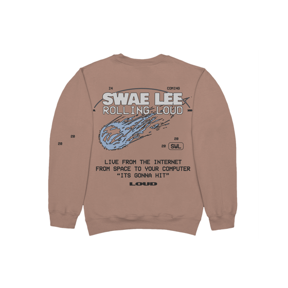 Swae Lee x Rolling Loud Tan Sweatshirt