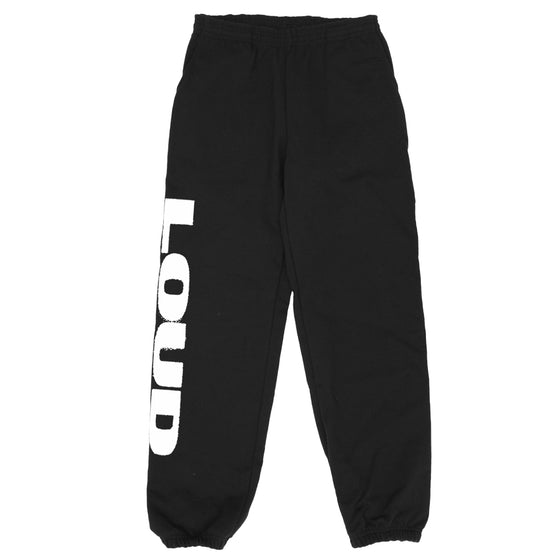 LOUD Super Heavyweight Sweatpants Black