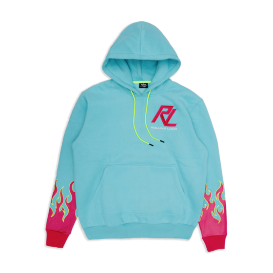 RL Moto Flames French Terry Hoodie