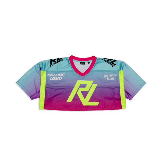 RL Crop Moto Jersey 3M Official