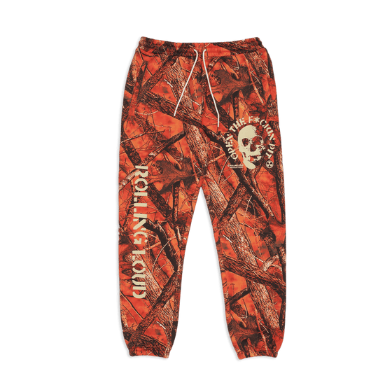 Open The Pit OG Orange Camo Sweatpants