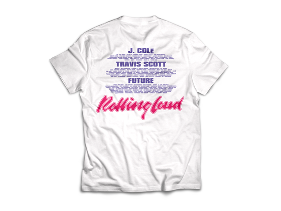 Rolling Loud Miami Woman White Tee