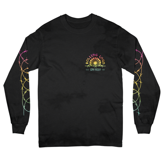 Ferris Black Long Sleeve Tee