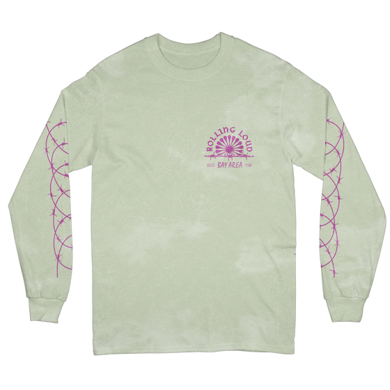 Ferris White Long Sleeve Tee