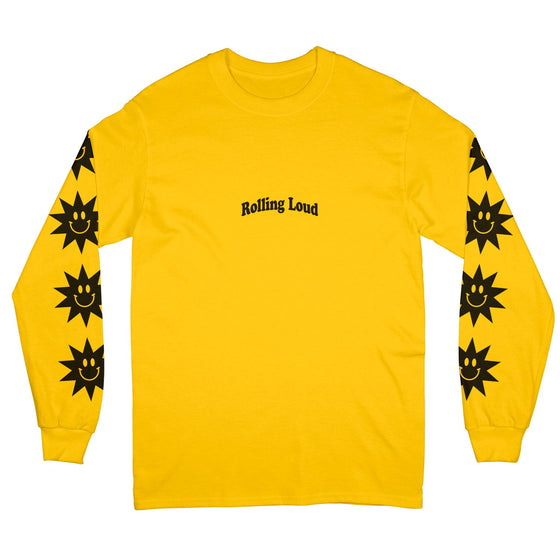 Summer Sun Gold Long Sleeve Tee