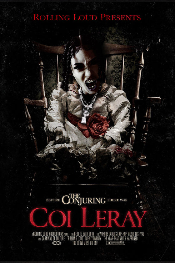 Coi Leray Limited Release Halloween Poster