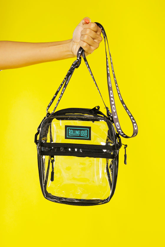 Clear Shoulder Bag  - Festival Approved