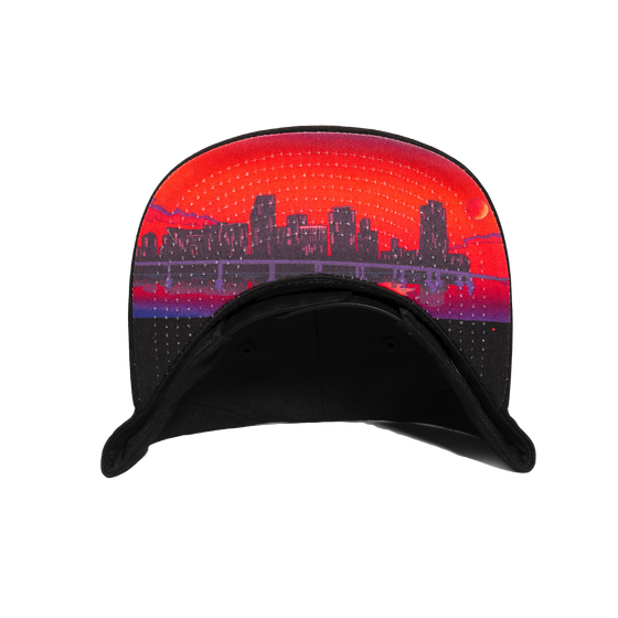 Rolling Loud Miami Black New Era Snapback