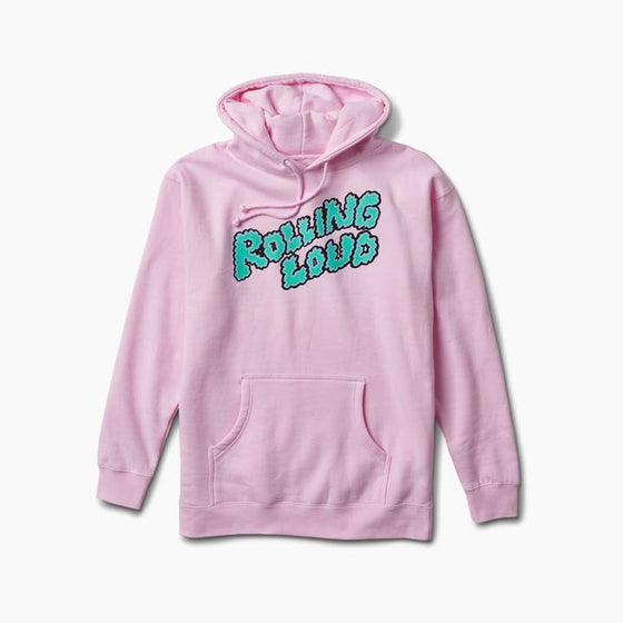 Rolling Loud Miami Pink Puffy Logo Hoodie
