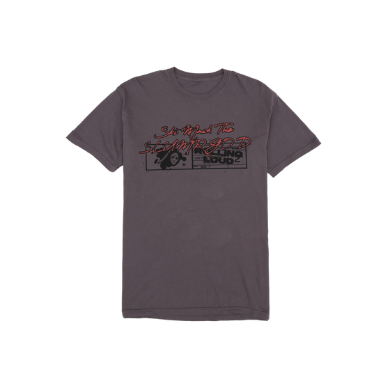 Ski Mask The Slump God x Rolling Loud Grey Vintage T Shirt