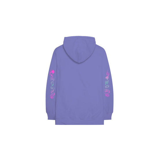 Wunna x Rolling Loud Stream Air Purple Hoodie