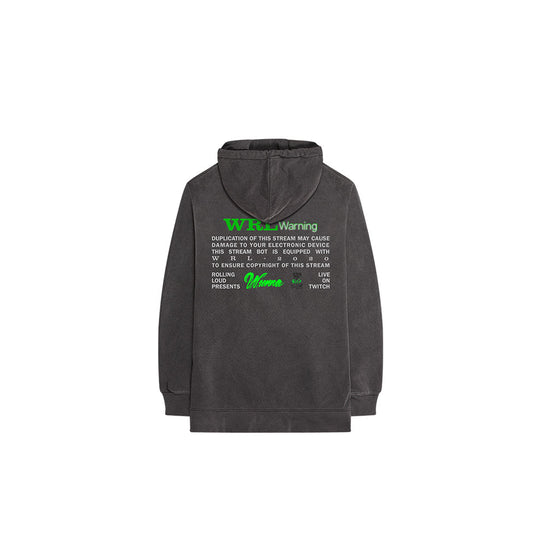 Wunna x Rolling Loud Stream Live Washed Hoodie