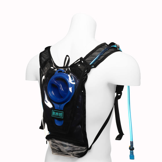Clear Camelpak Hydration Pack w/ Water Supply - Festival Approved Bag