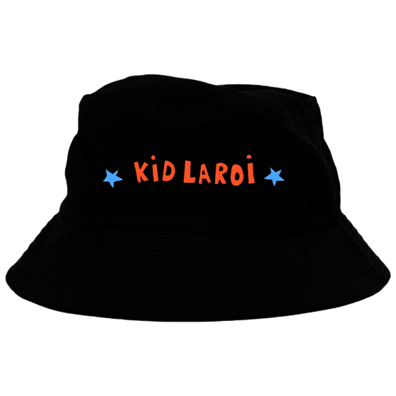 Kid Laroi  x Rolling Loud Black Bucket Hat