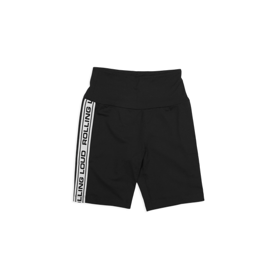 RL Productions Black French Terry Shorts
