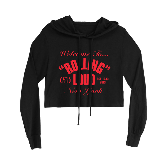 NY19 RL Project Crop Hoodie