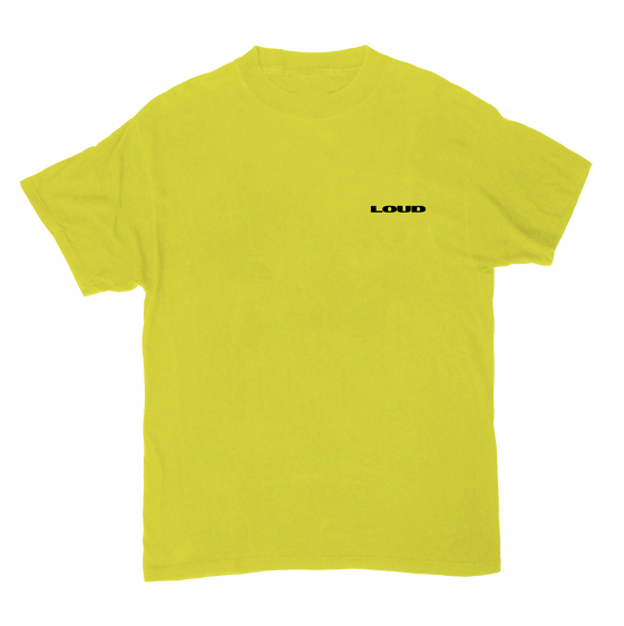 Party Hard Yellow SS Tee