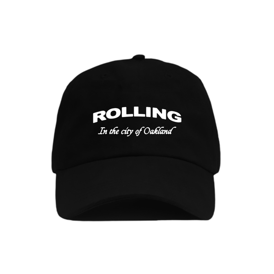 In The City Black Dad Hat