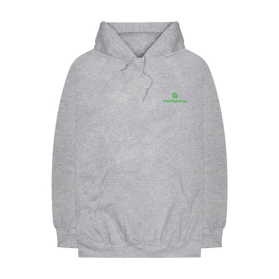 Bay Face Heather Grey Hoodie