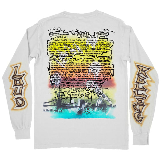 NY19 Phade x RL Air Brush Line Up LS Tee