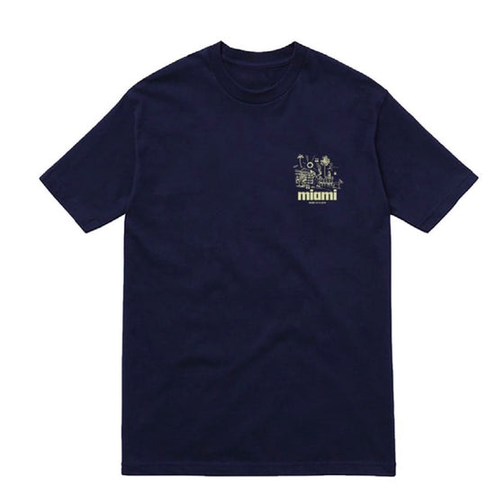 Summer Vacation SS Tee Navy