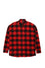 Red Flannel Drop Shoulder Shirt