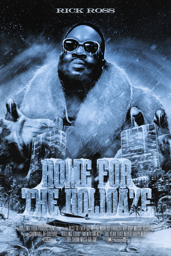 Rick Ross Home For The Holizade Poster