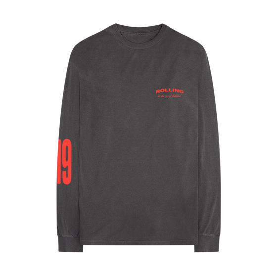 In the City Black Long Sleeve Tee