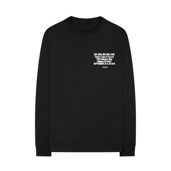 Scan Black Long Sleeve Tee