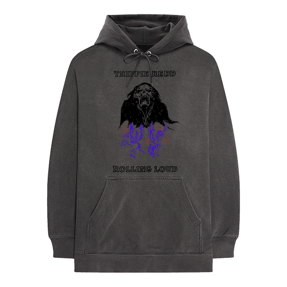 Trippie Redd x Rolling Loud Stream Washed Hoodie