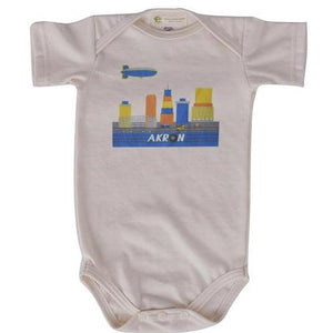 Akron Skyline short sleeve Onesie