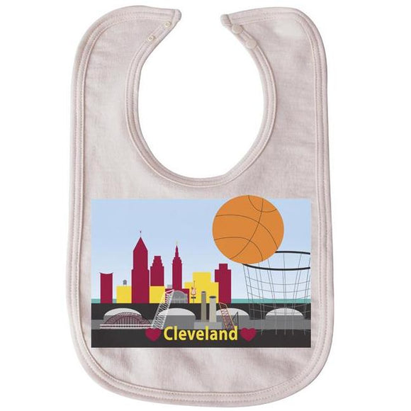 CLE Basketball bib