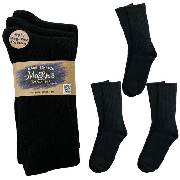 Cotton Crew Sock Tri-Pack
