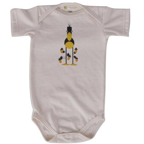 Daycare short sleeve onesie
