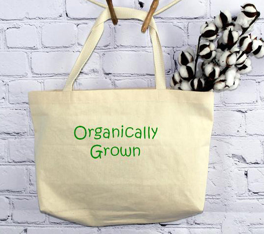 Organically Grown, Tote Bag (by Sr. Mary Eileen Boyle)
