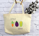 Locally Grown, Tote Bag
