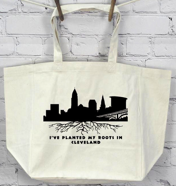 Planted Roots by Sr. Mary Eileen Boyle Printed Tote Bag