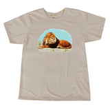Lion by Sr. Mary Eileen Printed Tshirt, Toddler to Adult