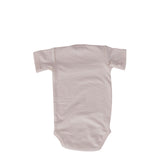 Short Sleeve Natural onesie (back)