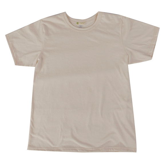Youth Organic Cotton Tshirt, Crew Neck