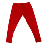 Women's Leggings in Cardinal Red
