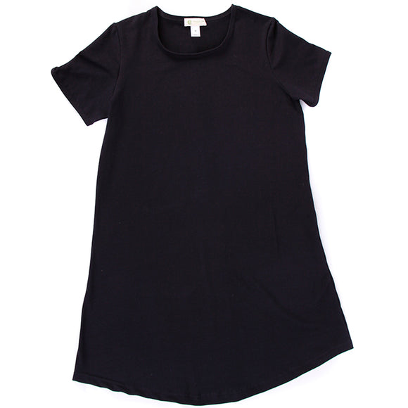 Women's Tshirt Dress, Crew Neck