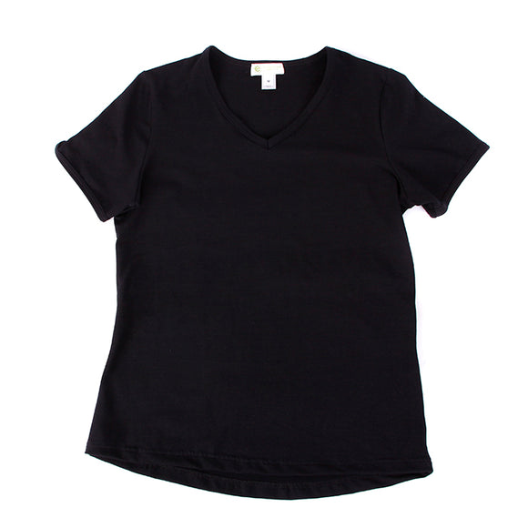 Women's Tshirt, V Neck