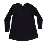 Women's Classic Tunic, V Neck in Night Sky (long sleeve)