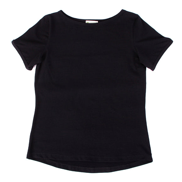 Women's Tshirt, Boat Neck