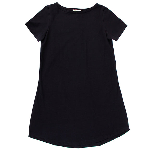 Women's Tshirt Dress, Boat Neck